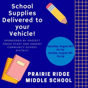 Project Fresh Start's School Supply Giveaway Delivered to your vehicle! (3)