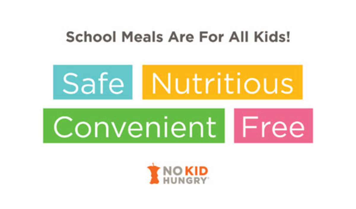 School meals are for all kids