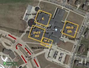 Prairie Trail Parking Map