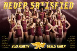 Girls Track Poster 2021