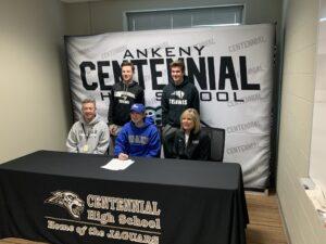 Will Blevins Drake Scholarship Signing