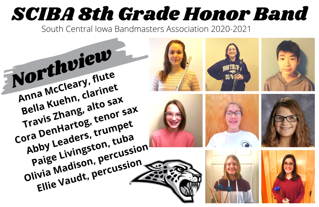 Northview 8th grade honor band